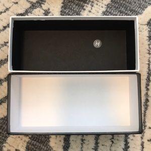 CHANEL Accessories - Chanel sunglasses case, cloth, and box